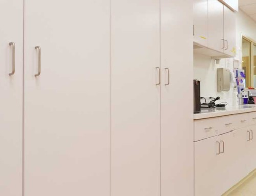 Flairwood Healthcare Patient Cabinets Tall