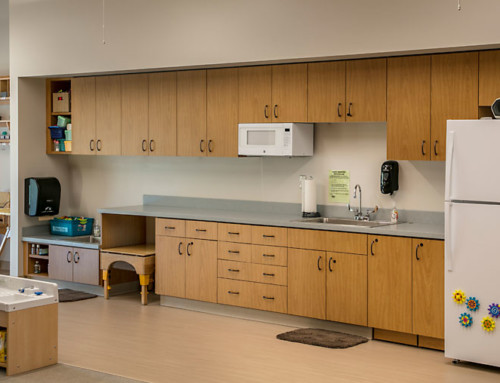 Flairwood Education GRCC North Wing Kitchen Cabinets
